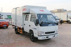 江铃 顺达窄体 116马力 3.32米双排厢式轻卡(JX5044XXYXSGS2)