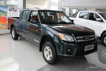 江铃 宝典 2018款 新时尚版 普通款 2.4L汽油 136马力 两驱 标准货箱双排皮卡