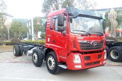 中国重汽 豪曼H5重卡 280马力 6X2 7.8米栏板载货车底盘(ZZ1258KC0EB1) 卡车图片