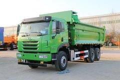 青岛解放 天V重卡 350马力 6X4 6.2米自卸车(CA3251P2K2L4T1E5A80-2) 卡车图片