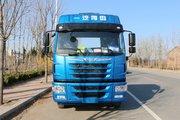 青岛解放 龙VH中卡 220马力 4X2 6.75米厢式载货车(CA5189XXYPK2L2E5A80)