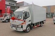 江淮 骏铃V5 120马力 4.15米单排厢式轻卡(江淮变速箱)(HFC5045XXYP92K1C2V)