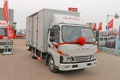江淮 骏铃V5 120马力 4.15米单排厢式轻卡(HFC5045XXYP92K3C2V) 卡车图片