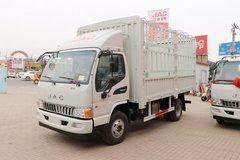 江淮 骏铃E6 141马力 4.18米单排仓栅式轻卡(HFC5043CCYP91K2C2V) 卡车图片