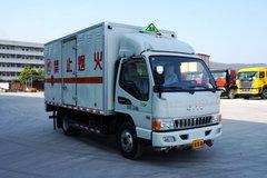 江淮 骏铃E5 130马力 4X2 4.165米易燃气体厢式运输车(SGQ5070XRQJG5)