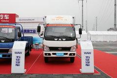 奥驰 D2系列 130马力 4.8米排半厢式轻卡(FD1060P10K) 卡车图片