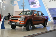2009款黄海 大柴神 豪华型 2.4L汽油 四驱 双排皮卡 卡车图片