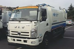 飞碟奥驰 A3 130马力 4X2 压缩式垃圾车(FD5081ZYSW17K5)