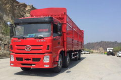 三环十通 昊龙 270马力 8X2 9.6米仓栅式载货车(STQ5311CCYA5) 卡车图片