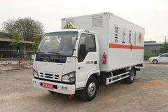 庆铃 五十铃600P 130马力 4.2米易燃气体厢式运输车(QL5040XRQA5HAJ)