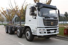 联合卡车 E300重卡 300马力 8X4 9.6米仓栅式载货车(QCC5312CCYD656M) 卡车图片