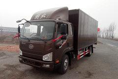 解放 J6F 165马力 5.4米排半厢式轻卡(CA5105XXYP40K2L4E5A84) 卡车图片