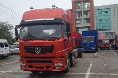东风华神 T7 245马力 6X2 9.6米厢式载货车(EQ5252XXYLV2)