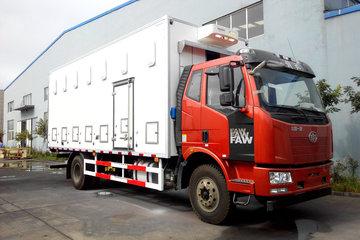 一汽解放 J6L中卡 220马力 6X2 8.7米雏禽运输车(QYK5250XCQ)