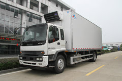 康飞 205马力 7.6米冷藏车(庆铃FTR底盘)(KFT5163XLC50)