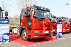 一汽解放 J6L中卡 2018款 质惠版 220马力 4X2 6.75米栏板载货车(CA1180P62K1L4E5) 卡车图片