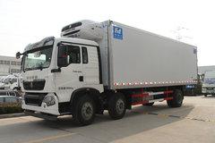 康飞 240马力 6X2 8.45米冷藏车(重汽豪沃T5G底盘)(KFT5259XLC50)