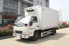 江铃 顺达窄体 116马力 4X2 4.1米冷藏车(康飞牌)(KFT5042XLC57)