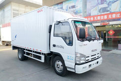 庆铃 五十铃100P 130马力 4.25米单排厢式轻卡(QL5041XXYALHAJ)