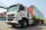 中国重汽 HOWO T5G重卡 37T 6X4 纯电动牵引车(ZZ4257V384GZ1BEV)