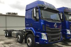 东风柳汽 乘龙H5 290马力 8X2 9.6米仓栅式载货车(LZ5320CCYH7EB)