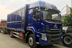 东风柳汽 乘龙H5中卡 220马力 4X2 6.8米排半畜禽载货车(LZ5182CCQM3AB)图片