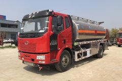 湖北程力 220马力 4X2 解放J6L底盘运油车(CLW5180GYYLC5)