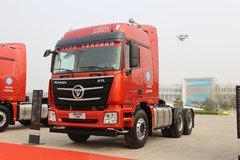 福田 欧曼GTL 9系重卡 至强版 550马力 6X4牵引车(潍柴动力红色)(BJ4259SMFKB-AB) 卡车图片
