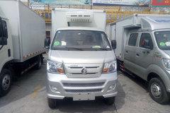 重汽王牌 W1 2.2L 112马力 汽油/CNG 4X2 冷藏车(CDW5030XLCN2M5D)
