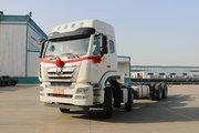 中国重汽 豪瀚J6G重卡 380马力 8X4 9.5米栏板载货车(ZZ1315N466WE1)