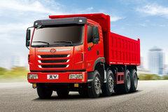 青岛解放 天V重卡 375马力 8x4 7米自卸车(CA3312P2K2L3T4E5A80)
