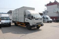 江铃 凯威中卡 156马力 4X2 5.8米排半厢式载货车(轴距 4500)