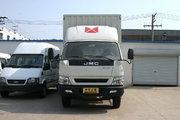 江铃 凯威中卡 156马力 4X2 6米单长厢式载货车(JX5080XXYXRA2)