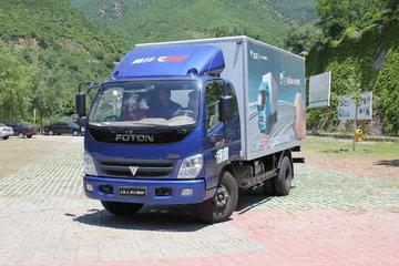 福田 奥铃CTX中卡 170马力 4X2 7.75米厢式载货车(BJ5159XXY-F3)