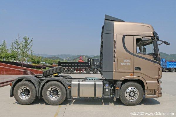 优惠2万 天龙旗舰KX牵引车火热促销中,综合油耗30-33升