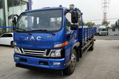 江淮 骏铃V7 154马力 6.2米排半栏板载货车(HFC1120P91K1D4V) 卡车图片