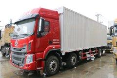 东风柳汽 乘龙H5 270马力 6X2 9.7米排半翼开启厢式载货车(LZ5250XYKM5CB) 卡车图片