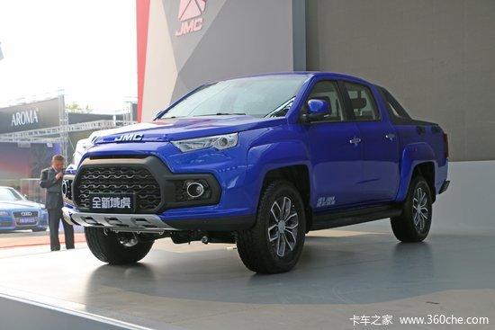 江铃 域虎7 2018款 豪华版 2.0T汽油 205马力 自动 两驱 双排皮卡