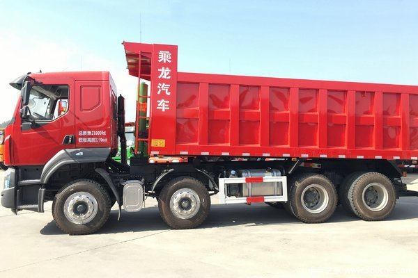 感恩回馈柳汽乘龙H5自卸车降价0.68万