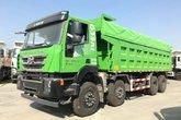 上汽红岩 杰狮C500重卡 轻量化版 390马力 8X4 7.2米自卸车(CQ3316HTVG336S)