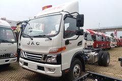 江淮 骏铃V6 重载版 156马力 4.18米单排仓栅式轻卡(HFC2043CCYP91K1C2V-S) 卡车图片
