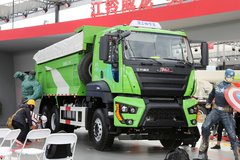 江铃重汽 威龙重卡 390马力 6X4 5.6米自卸车(SXQ3250J4A3D5A)