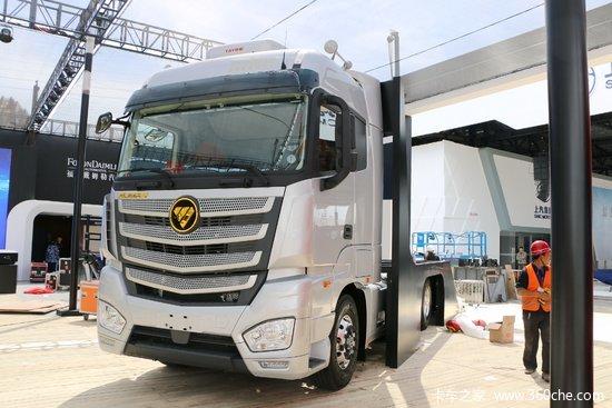 福田 欧曼EST-A 6系重卡 智尊版 490马力 6X2R AMT自动挡牵引车(缓速器)(BJ4269SNFKB-AF)