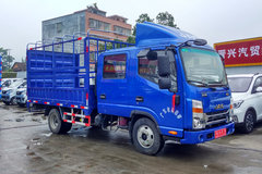 江淮 帅铃K340 120马力 3.145米双排仓栅式轻卡(HFC5041CCYR73K1C3V)