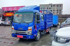 江淮 帅铃Q3 120马力 3.145米双排仓栅式轻卡(HFC5041CCYR73K1C3V) 卡车图片