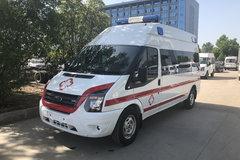 湖北程力 136马力 4X2 江铃新世代全顺底盘救护车(CLW5041XJHJ5)