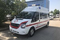 湖北程力 136马力 4X2 江铃新世代全顺底盘救护车(CLW5040XJHJ5)