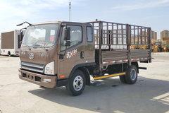 解放 虎VH 130马力 3.85米排半仓栅式轻卡(CA5043CCYP40K15L1E5A84) 卡车图片