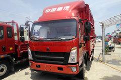 中国重汽HOWO 统帅 重载版 154马力 4.15米单排仓栅式轻卡(ZZ5047CCYF341CE143)