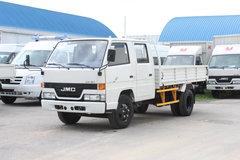 江铃经典顺达 116马力 3.4米双排栏板轻卡 卡车图片